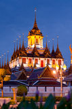 Metallic castle Bangkok Thailand Stock Photo