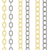 Metallic chain Royalty Free Stock Photography