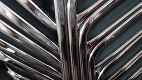Metallic chairs Royalty Free Stock Image