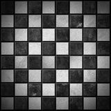 Metallic Chess Board Stock Image