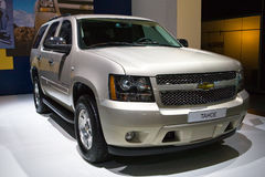 Metallic Chevrolet Tahoe Royalty Free Stock Image