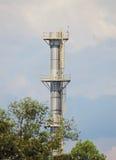Metallic chimney Stock Photos