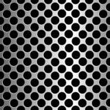 Metallic circles texture Stock Photos