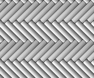 Metallic classic parquet seamless background front view Stock Photography