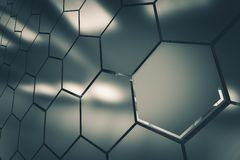 Metallic Clusters Background Royalty Free Stock Images