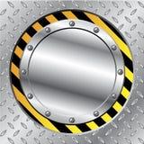 Metallic construction cap vector illustration
