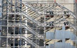 Metallic constructions. Royalty Free Stock Photos