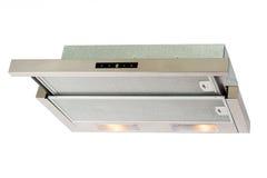Metallic cooker hood Stock Photos
