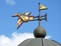 Metallic crow bird Stock Photo