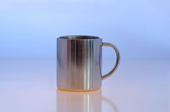 Metallic cup Royalty Free Stock Photos