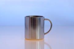 Metallic cup Royalty Free Stock Photos
