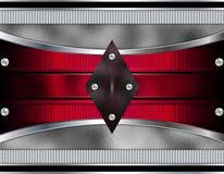 Metallic Design Background Stock Photography