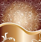 Metallic design background. Vector design background with metallic colors Royalty Free Illustration
