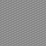 Metallic diamond flooring seamless background Stock Photography