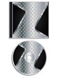 Metallic Disc And Cover Design Stock Photo