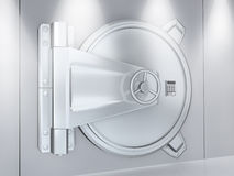 Metallic door Stock Images