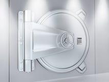 Metallic door Stock Images