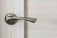Metallic door knob Royalty Free Stock Photography