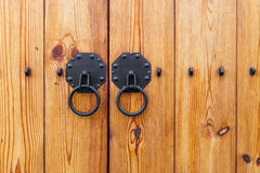 Metallic door lock Stock Photography