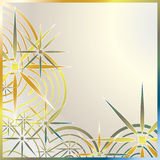 Metallic Effect Illustration Royalty Free Stock Image