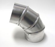 Metallic Elbow stock photos