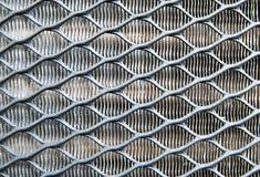 Metallic fence Royalty Free Stock Photo