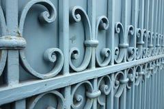 Metallic Fence Stock Images