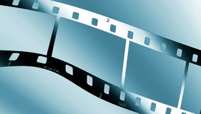 Metallic filmstrip Royalty Free Stock Images