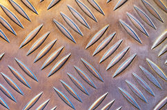 Metallic floor Royalty Free Stock Image