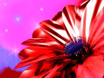 Metallic flower Royalty Free Stock Images