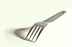 Metallic fork Royalty Free Stock Photos