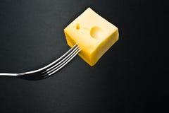 Metallic fork Royalty Free Stock Images