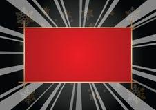 Metallic frame Stock Image