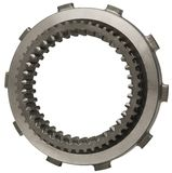 Metallic Gear. Hand made clipping path included Royalty Free Stock Photography