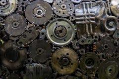 Metallic gears and cogwheels Stock Images