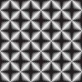 Metallic geometric seamless texture Royalty Free Stock Photos