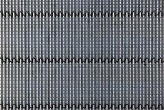 Metallic geometric surface Stock Photography