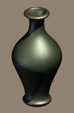 Metallic Glazed Urn Stock Images