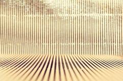 Metallic glitter stripes lights background Stock Photo
