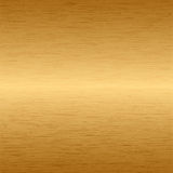 Metallic gold. Brushed metallic gold textured background Stock Photos