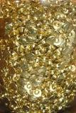 metallic gold texture Royalty Free Stock Image