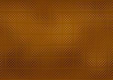 Metallic golden mosaic Royalty Free Stock Photo