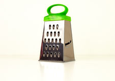 Metallic grater isolated Royalty Free Stock Photo