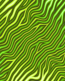Metallic Green Zebra Print Stock Photo