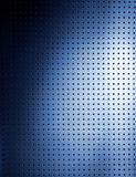 Metallic grid. Photographic grid plate whit a blue gleam Stock Photography