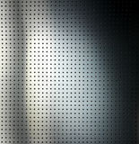 Metallic grid. Plate grid with sparkles and shades Royalty Free Stock Images