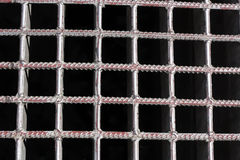 Metallic Grid Pattern Royalty Free Stock Image