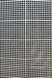 Metallic grille mask of a historic car Stock Images