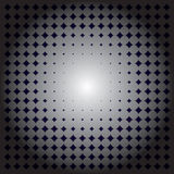 Metallic halftone for background Royalty Free Stock Photos