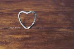 Metallic heart Stock Photos
